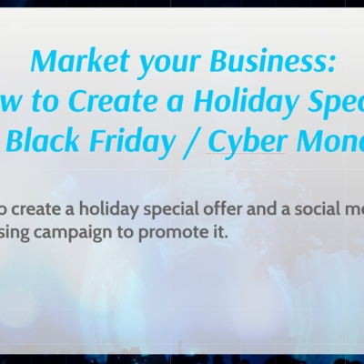 Advertising and Special Offers